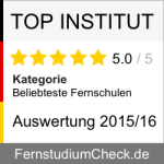 Auszeichnungen: Top-Institut-Fernstudienakademie
